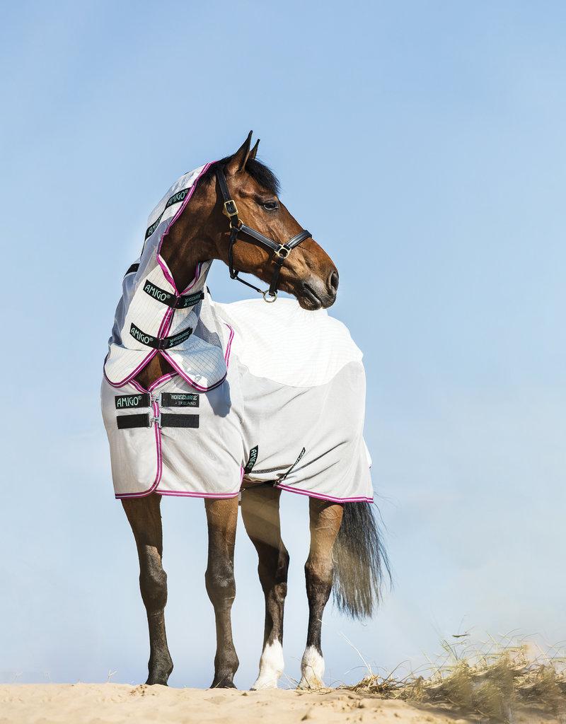 Horseware Amigo airflow deken Groen / paars & mint