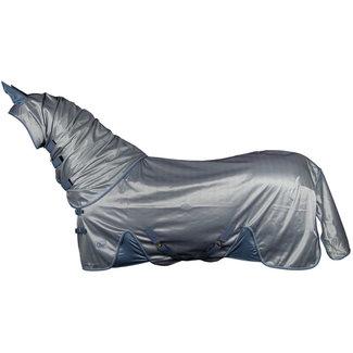 Harry's Horse Vliegendeken mesh Reflective met losse hals