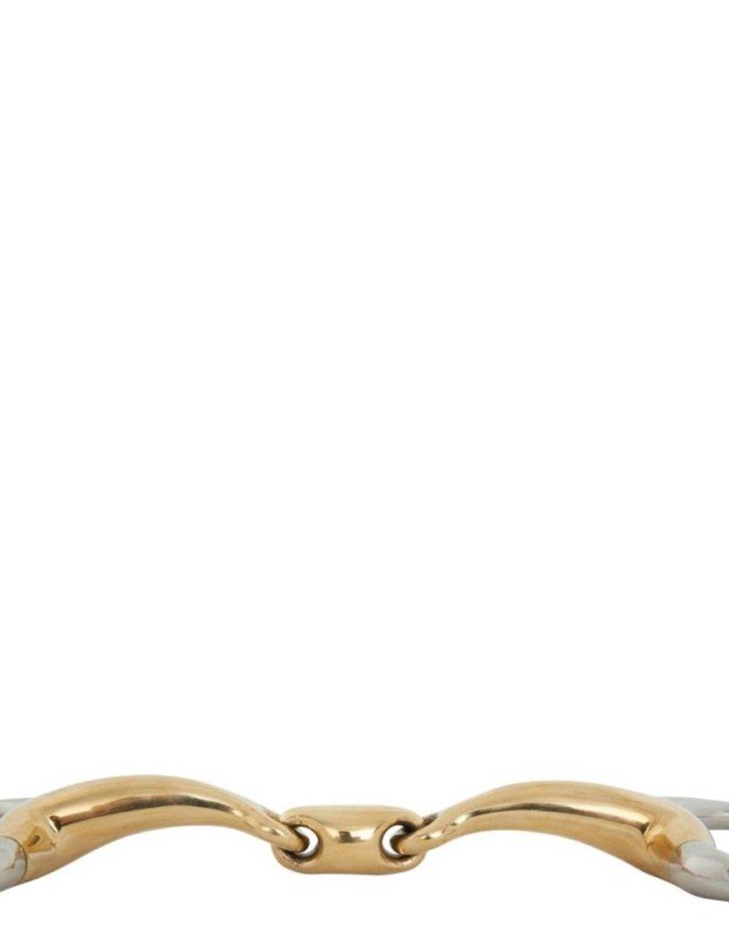 BR Bustrens dubbel gebroken soft contact 16mm ring 65mm