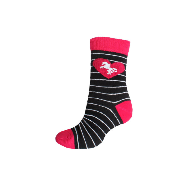 Horka Socks kids black stripe