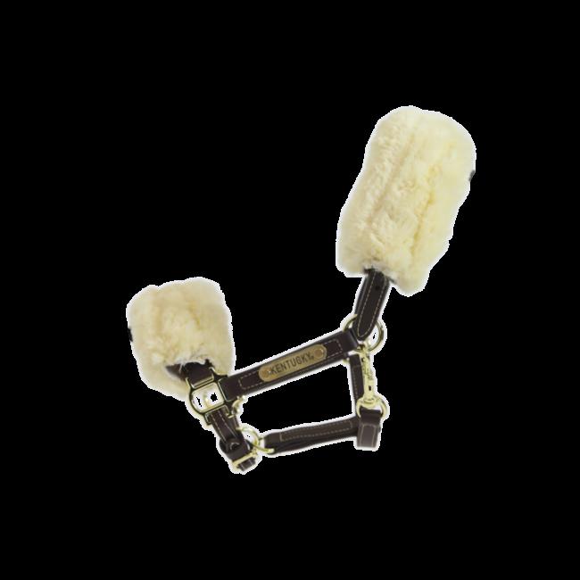Leather Halter Sheepskin