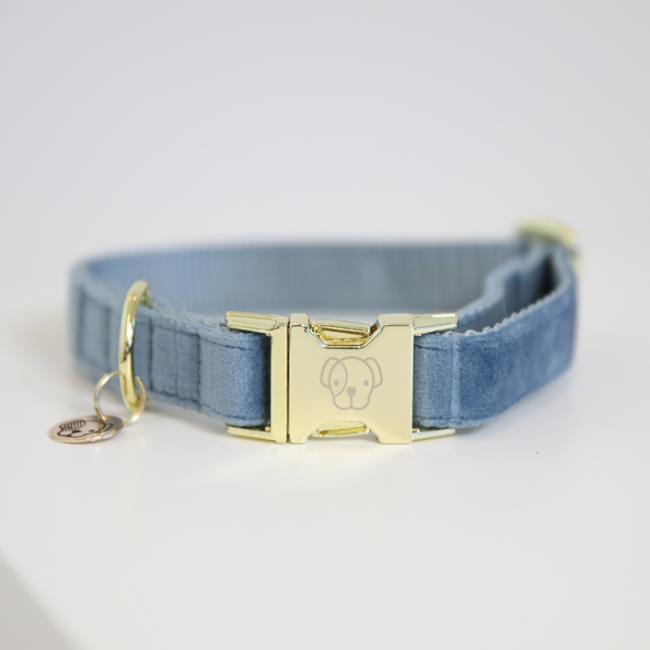 Dog collar velvet