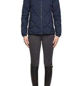 Cavalleria Toscana Jacket Quilted nylon hooded puffer met fleece