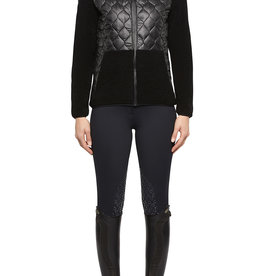 Cavalleria Toscana Jacket wool fleece quiled nylon