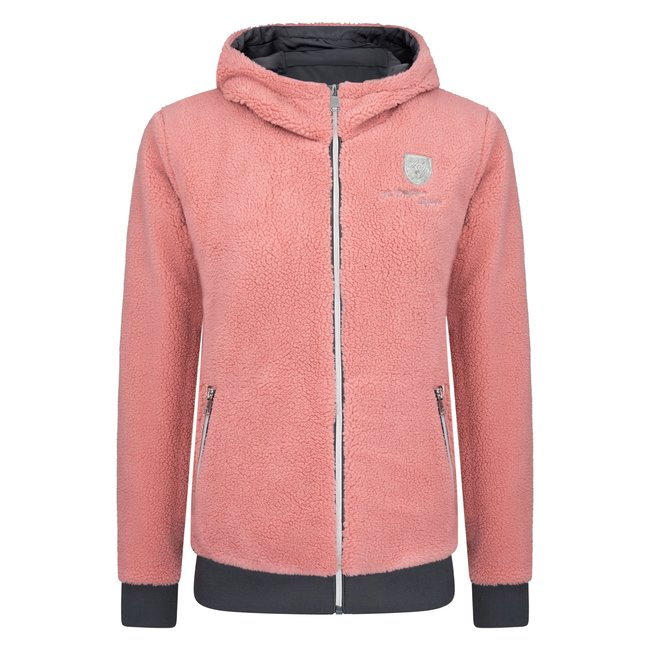 HV Polo Jacket  Granaat Size L