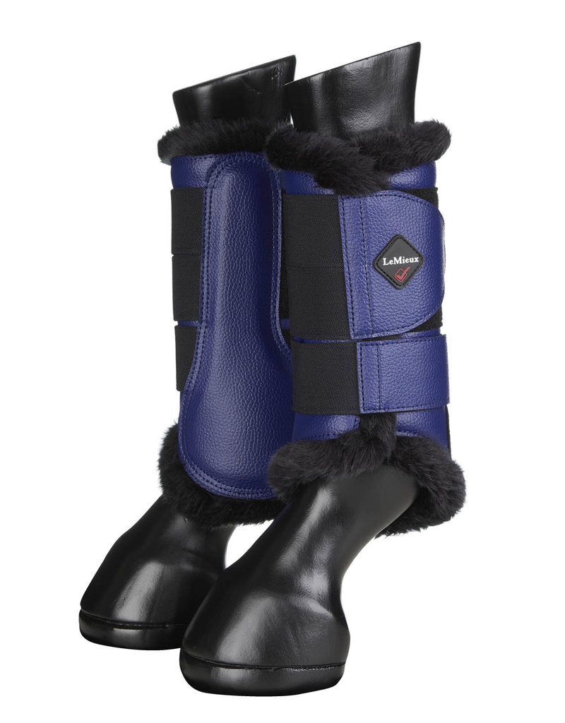 LeMieux brushing boot Fleece Lined