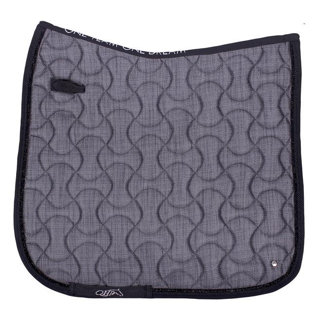 Qhp Saddle pad Metallic glitz
