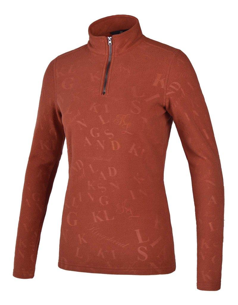 Kingsland Trainingsshirt Allover Printed Fleece Siena