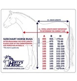 Harry Horse Fleecedeken STOUT! Blue