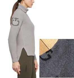 Cavalleria Toscana Turtle Neck Seed Stitch Sweater