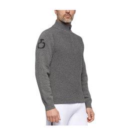 Cavalleria Toscana turtleneck wool sweater  Stockinette