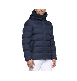 Cavalleria Toscana Quilted Nylon Hooded Puffer Fleece Pocket