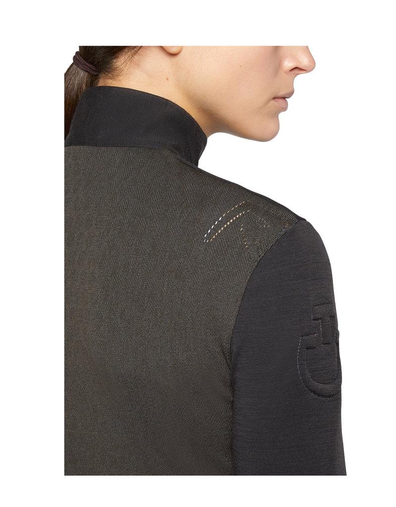 Cavalleria Toscana Tech Wool Zip Turtleneck Sweater