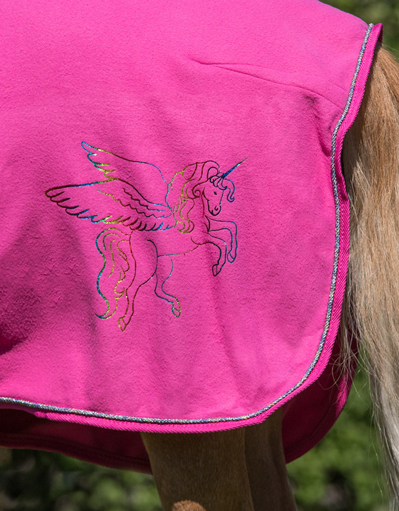Qhp Deken fleece Pegasus