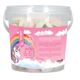 Lucky Horse Unicorn Horse Treats bucket
