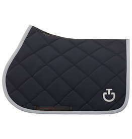 Cavalleria Toscana Saddle pad Rhombi jersey quilted