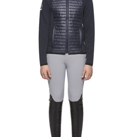 Cavalleria Toscana Quilted Nylon Hooded Jacket kids