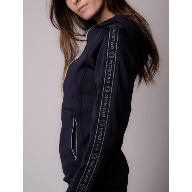 Montar Sweatjack Ronne hoodie met logotape