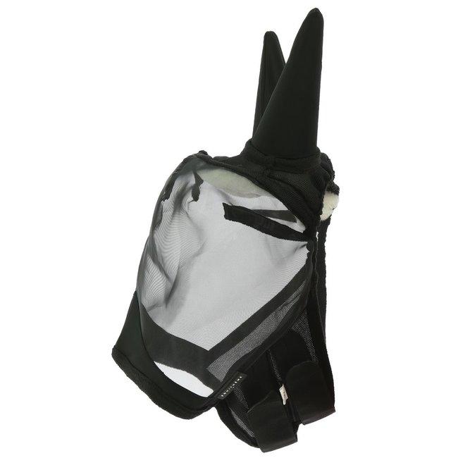 Equi-Theme Vliegenmasker Rip-stop Zwart