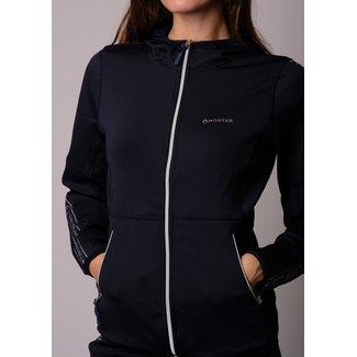 Montar Sweat jacket Kristina hoody with logo tape