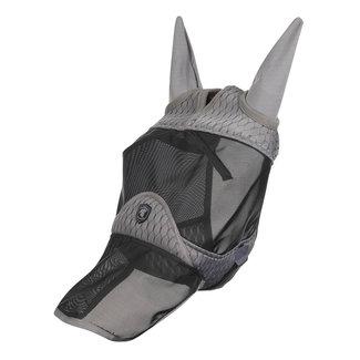 LeMieux Vliegenmasker Gladiator met neus en oren Grijs
