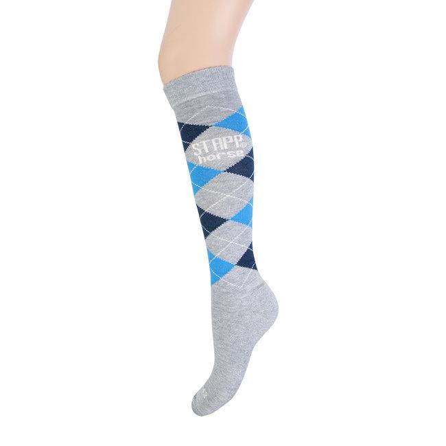Stapp Horse Socks check