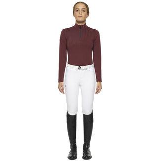 Cavalleria Toscana Shirt  Phaser jersey fleece half zip l/s  kids