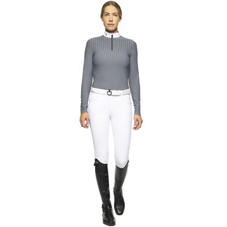 Cavalleria Toscana Wedstrijdshirt Phaser jersey fleece l/s