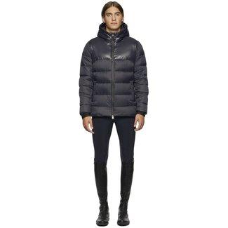 Cavalleria Toscana H-Jacket Shiny/Matte Nylon Hooded Puffer