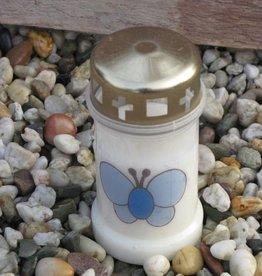 Noveenkaars blauwe vlinder