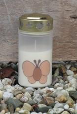 Noveenkaars taupe vlinder