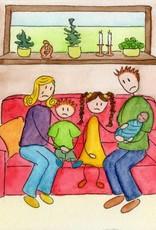 Mama had een baby in haar buik