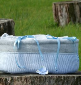 Gebreid - Classic Poederblauw