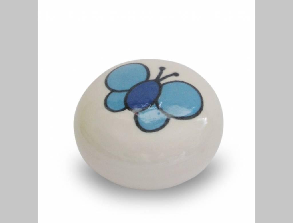 Urn Vergeet-me-nietje,  Vlinder Blauw