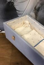 Houten kistje Blauw zacht