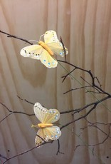 Vlindertje - Okergeel