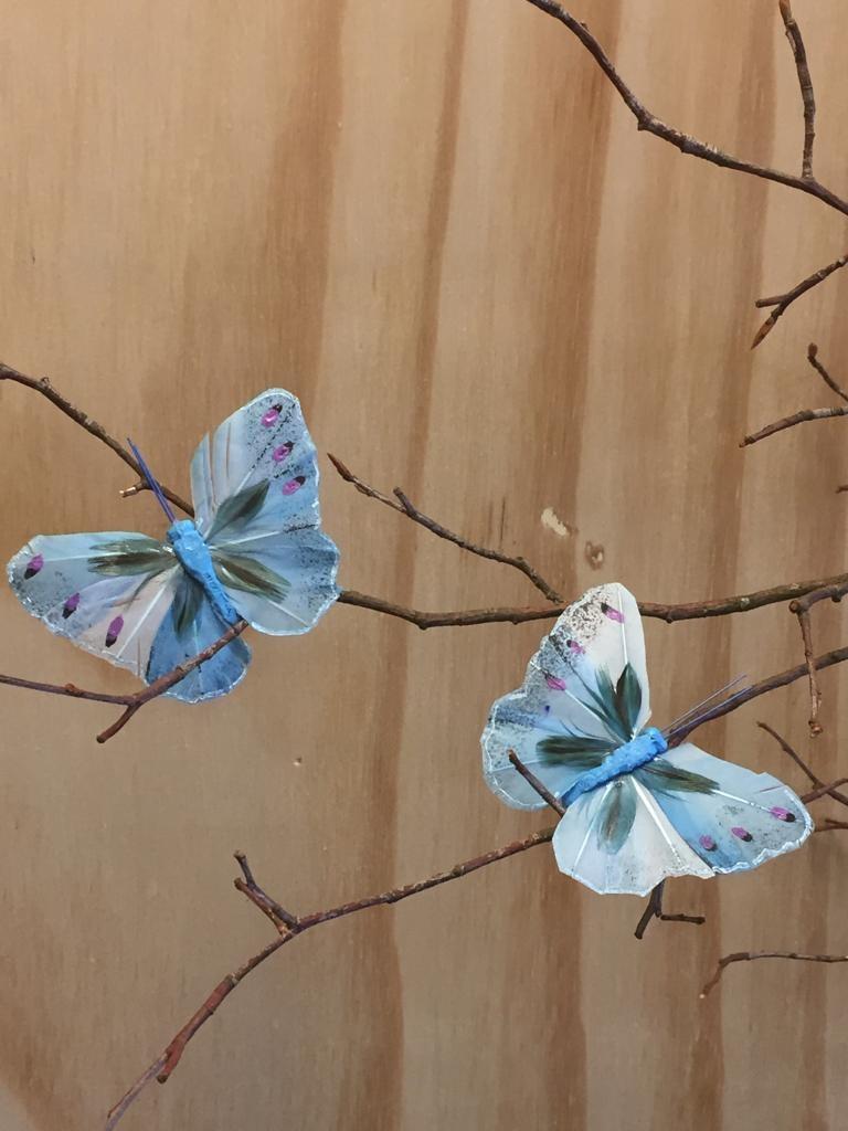 Vlindertjes - Blauw