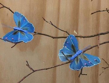 Vlindertje - Kobalt