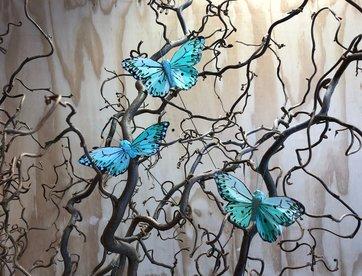 Vlindertjes - Mint (licht)