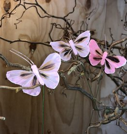 Vlindertjes - Roze 1