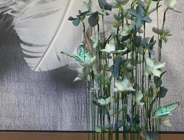 Vlindertuintje - groen