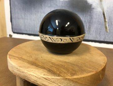 Mini urn zwart