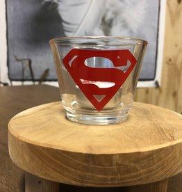 Waxinelichthouder -Superman Sven