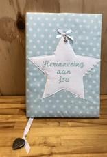 Herinneringsboek ster mint