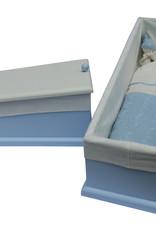Houten kistje Cable blauw