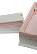 Houten kistje Classic roze