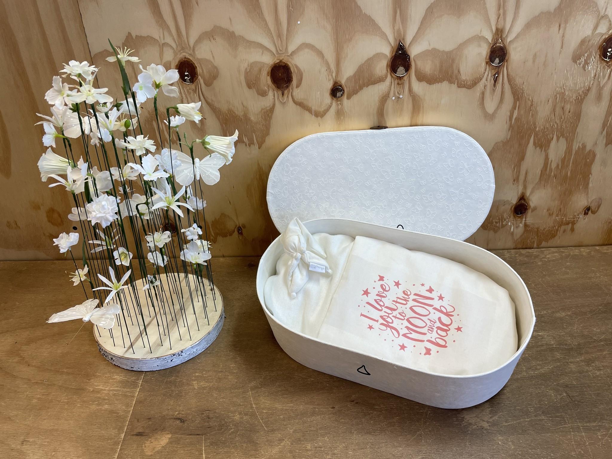 Afscheidsbox - S - Love roze