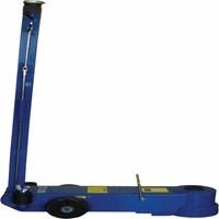 Lucht/hydraulische krik 50/25/10 ton