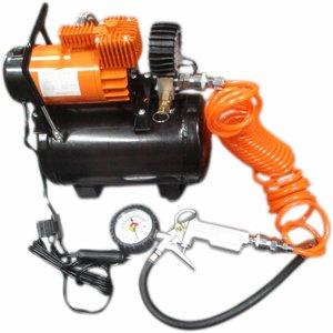 Compressor 12 volt met 3 liter tank