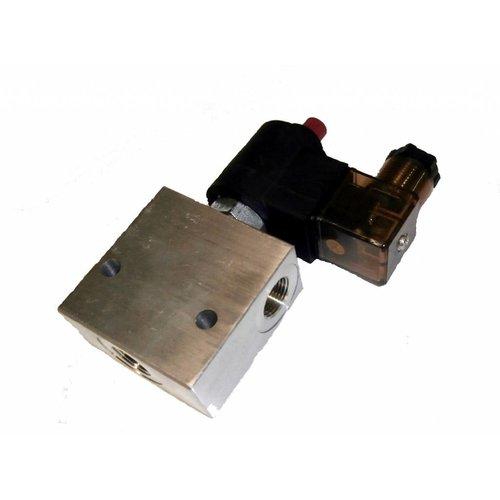 Hydrauliek solenoid dicht / open klep